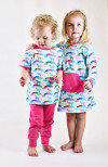 Sture & Lisa Dress Unicorn/Rainbow