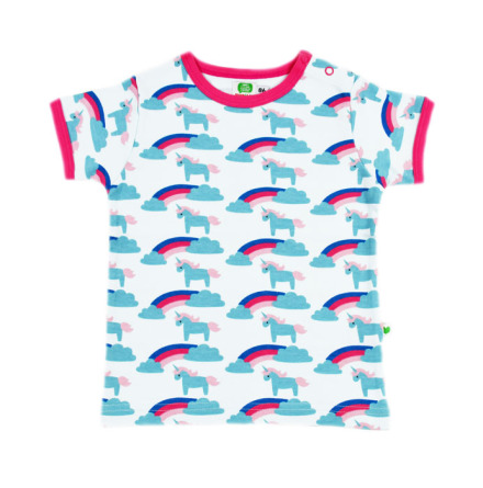 Sture & Lisa T-shirt Unicorn/Rainbow