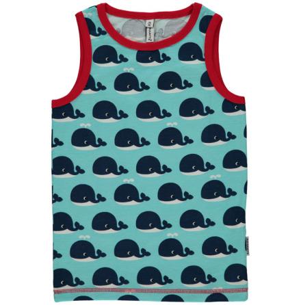 Maxomorra Tank Top Whale