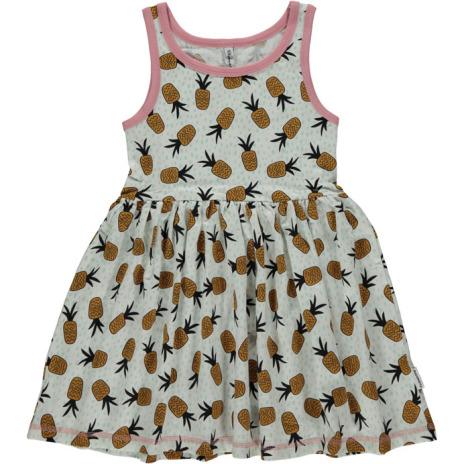 Maxomorra Dress Spin pineapple spots