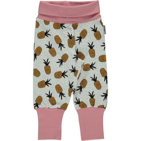 Maxomorra Pants pineapple spots