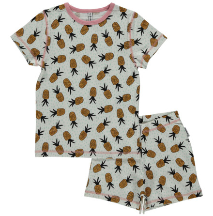 Maxomorra Pyjamas Set SS pineapple spots