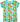 Duns SS Top Fruits turquoise green short sleeve