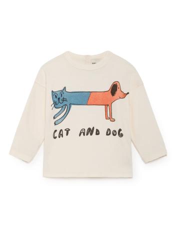 BoBo Choses Cat and dog T-shirt