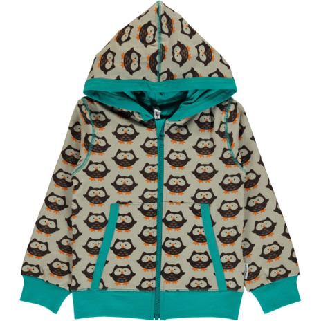 Maxomorra Cardigan Hood Owl