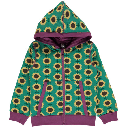 Maxomorra Cardigan Hood Sunflower