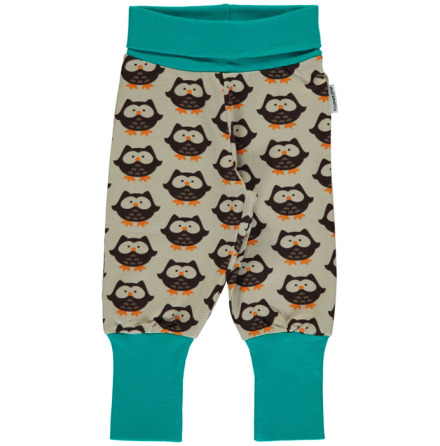 Maxomorra Pants Owl