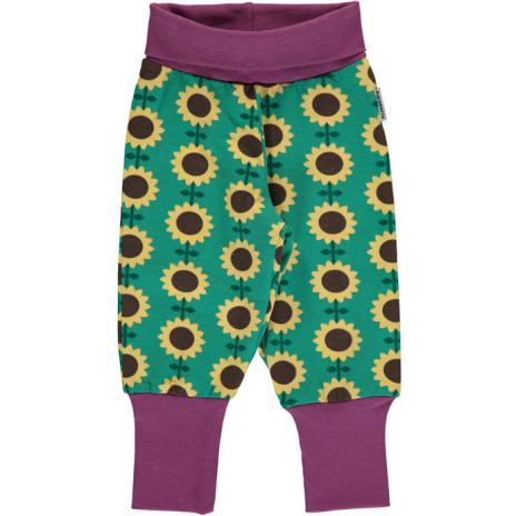 Maxomorra Pants Sunflower