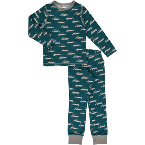 Maxomorra Pyjamas Set LS Classic car