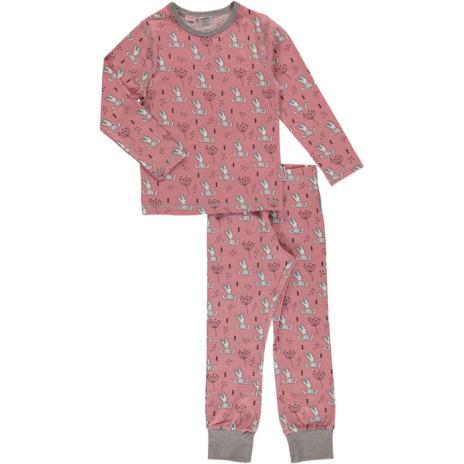 Maxomorra Pyjamas Set LS Sweet bunny
