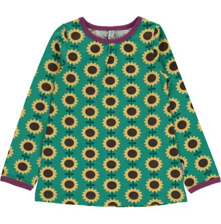 Maxomorra Top A-line LS Sunflower