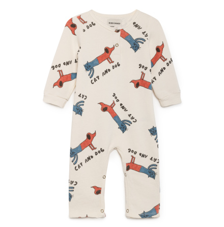 BoBo Choses  Cats and Dogs Playsuit
