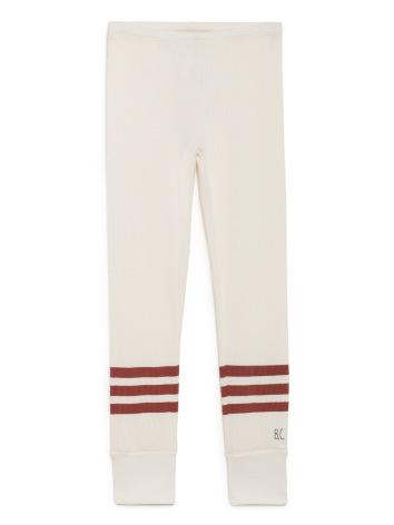 BoBo Choses red stripes leggings