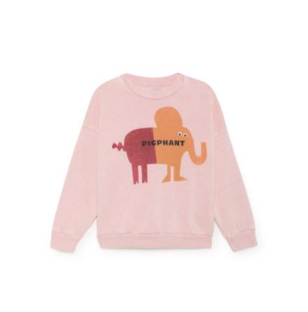 BoBo Choses pigghant pink Rib t-shirt