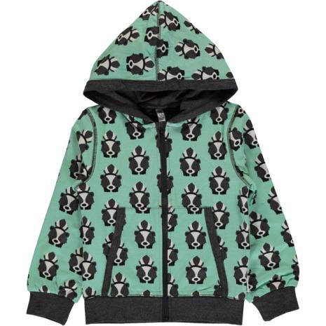 Maxomorra Cardigan Hood Skunk