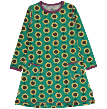 Maxomorra Dress LS Sunflower