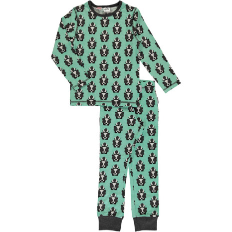 Maxomorra Pyjamas Set LS Skunk