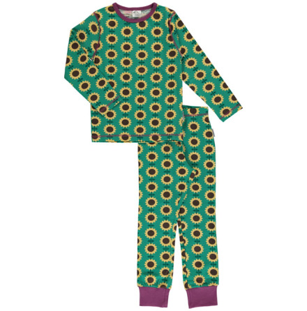 Maxomorra Pyjamas Set LS Sunflower