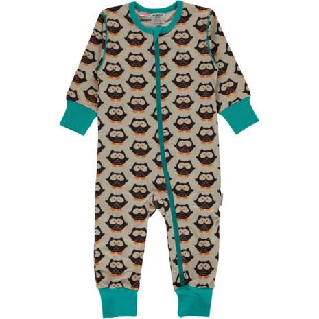 Maxomorra Pyjamas LS Owl