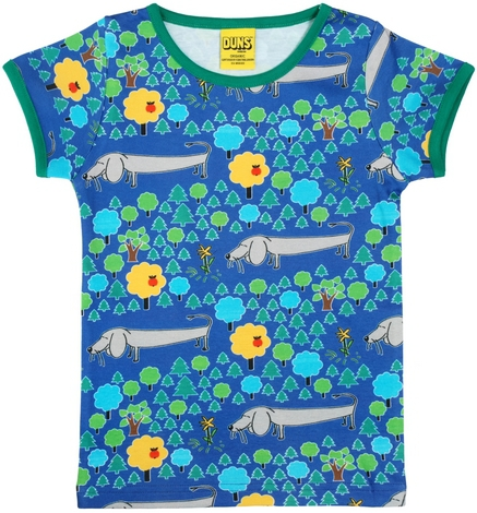 Duns SS Top A dogs life Blue short sleeve