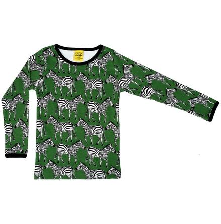 Duns LS Top zebra swamp green