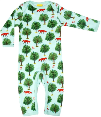 Duns Pyjamas Fox tree Jade