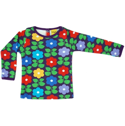 Duns LS Top Flowers Purple