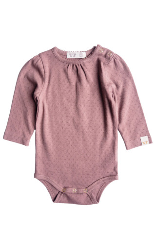 By Heritage Felicia body pointelle solid dark pink