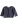 By Heritage Clara Jacket Sweatshirt Navy Blue