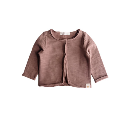 By Heritage Clara Jacket Sweatshirt Dark old Pink