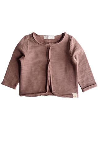 By Heritage Clara Jacket Sweatshirt Dark old Pink