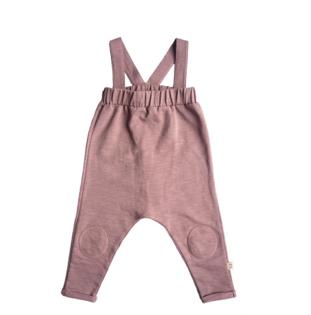 By Heritage Ollie Dungarees solid dark pink
