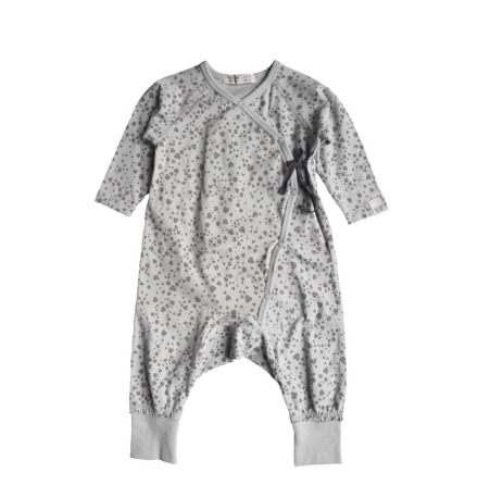 By Heritage Love Playsuit  print Light Grey