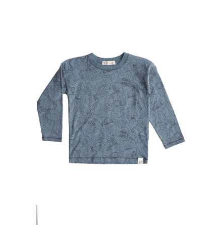 By Heritage Ted longsleeve t-shirt print seablue