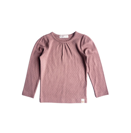 By Heritage Miriam Top Solid dark pink