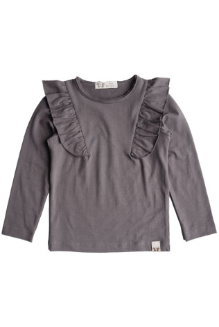 By Heritage Elin Top solid dark warm grey