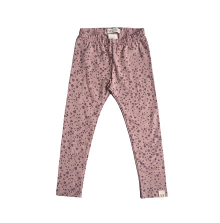 By Heritage Leon Leggings print dark old pink