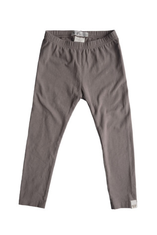 By Heritage Leon Leggings solid warm grey
