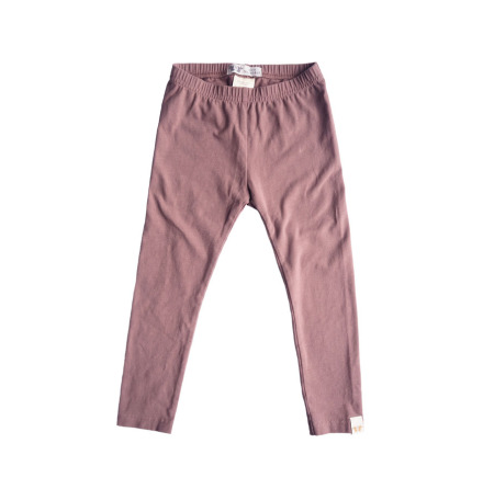 By Heritage Leon Leggings solid dark pink