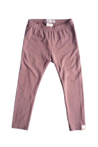 By Heritage Leon Leggings solid dark pink