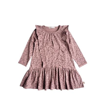 By Heritage Maja Dress print dark old pink