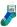 Duns Sock Dog Blue/green
