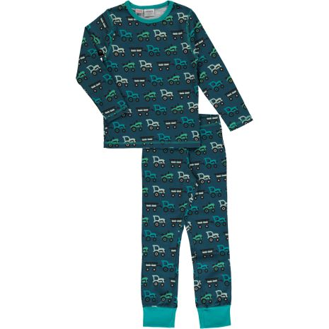 Maxomorra Pyjamas Set LS Tractor