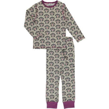 Maxomorra Pyjamas Set LS Dog