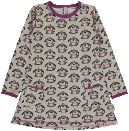 Maxomorra Tunic LS Dog