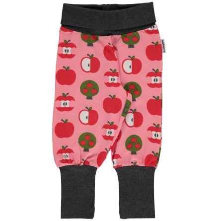 Maxomorra Pants rib Apple