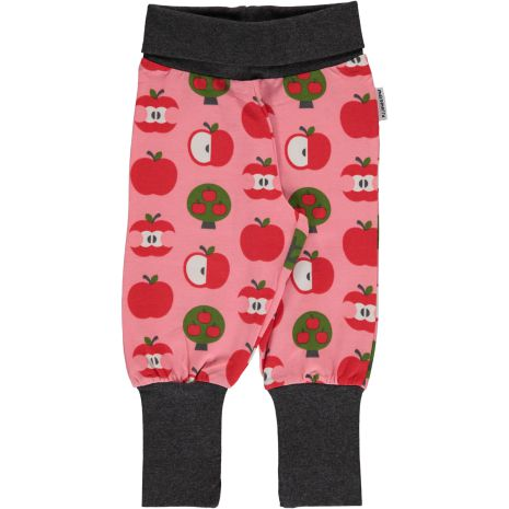 Maxomorra Pants rib Apple