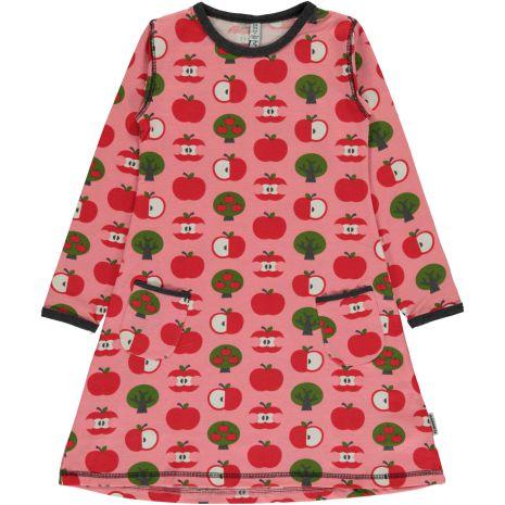 Maxomorra Dress LS Apple