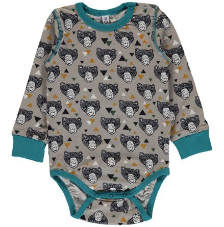 Maxomorra Body LS Grizzly bear
