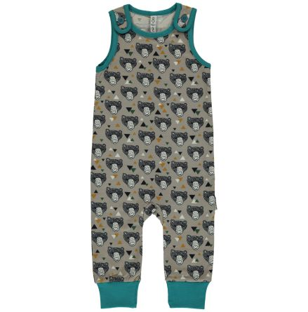 Maxomorra Playsuit Grizzlybear